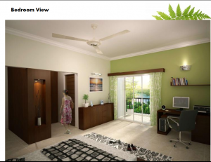 prestige_ferns_residency_Bedroom _View